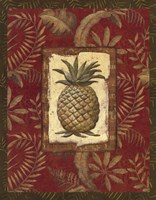 "22"" x 28"" Pineapple Decor"