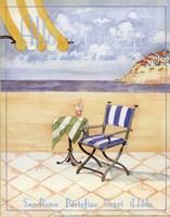 Alla Spiaggia - Mini Framed Print