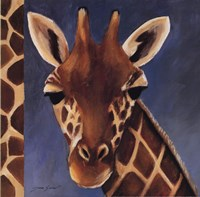 Exotic Giraffe - Mini Fine Art Print