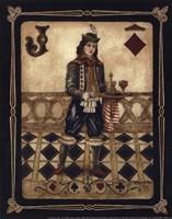 "Harlequin Jack - Mini by Gregory Gorham - 8"" x 10"""