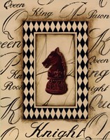 Chess Knight - Mini Fine Art Print