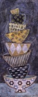"Blue Monday I - Petite by Carolyn Holman - 4"" x 10"""