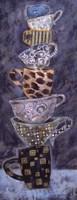 "Blue Monday II - Petite by Carolyn Holman - 4"" x 10"""