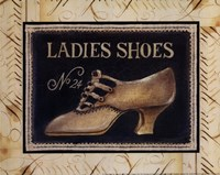 Ladies Shoes No 24 - Mini Fine Art Print