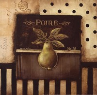 Poire - Square Mini Framed Print