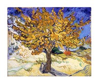 The Mulberry Tree in Autumn, c.1889 Framed Print