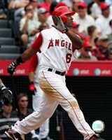 Garret Anderson - 2007 Batting Action Fine Art Print