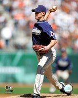 Jake Peavy - 2007 Pitching Action Fine Art Print