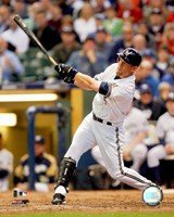 Geoff Jenkins - 2007 Batting Action Fine Art Print
