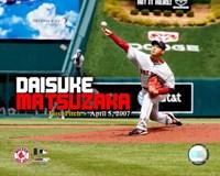 """Daisuke Matsuzaka - 1st Pitch 4/05/07 - 10"""" x 8"""""""