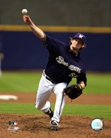 Derrick Turnbow - 2007 Pitching Action Fine Art Print