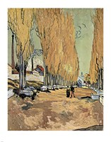 Les Alyscamps by Vincent Van Gogh - various sizes, FulcrumGallery.com brand