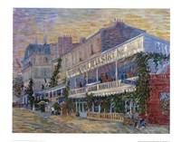 Restaurant de la Sirene Fine Art Print