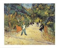 Entrance to the Public Garden in Arles Fine Art Print