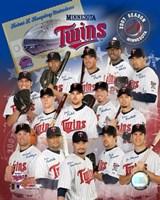 Twins - 2007 Team Composite Fine Art Print