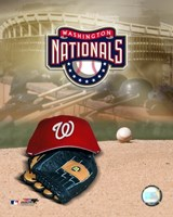 2007 - Nationals Logo Fine Art Print