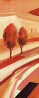 "Sunset Landscape I (Ew012 Lc061) by Alfred Gockel - 8"" x 20"", FulcrumGallery.com brand"