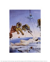 "Dream Caused by the Flight of a Bee Around a Pomegranate, A Second Before Awakening, 1944 by Salvador Dali, 1944 - 8"" x 10"""