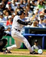"Hideki Matsui - 2007 Batting Action - 8"" x 10"""