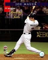 Joe Mauer - 2006 A.L. Batting Title Fine Art Print
