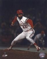 Bruce Sutter - Pitching Action (Cardinals) Fine Art Print
