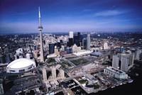 Toronto Skyline Wall Poster