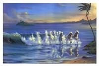 Galloping Waves Fine Art Print