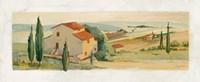 Villa d'Arezzo Fine Art Print
