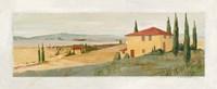 Villa di Volterra Fine Art Print