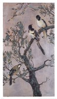 Magpies and Friends Fine Art Print
