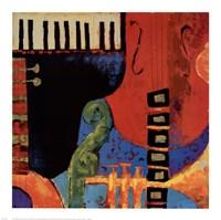 Juxta Jazz III Fine Art Print