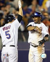 Jose Reyes / David Wright - 2007 Celebration Group Shot Fine Art Print