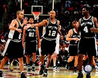 Spurs Celebration - 2007 Finals / Game 3 (#8) Fine Art Print