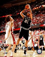 Tim Duncan - 2007 Finals / Game 3 (#10) Fine Art Print