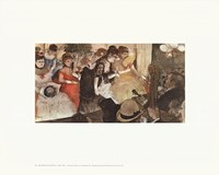 "Cabaret by Edgar Degas - 28"" x 22"""