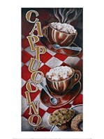 Cappuccino for Two Fine Art Print
