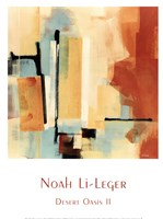 "Desert Oasis II by Noah Li-Leger - 12"" x 16"", FulcrumGallery.com brand"
