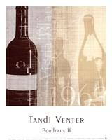 "Bordeaux II by Tandi Venter - 10"" x 12"""