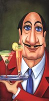 Sirio the Waiter Fine Art Print
