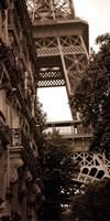 """La Tour Eiffel II by Boyce Watt - 12"""" x 24"""", FulcrumGallery.com brand"""