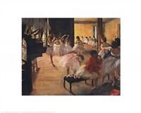 Ballet School, c. 1876 Fine Art Print