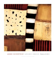 "Pattern of Life II by Anke Schofield - 27"" x 28"" - $25.99"