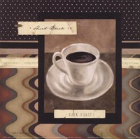 Drinking Short Black Coffee Fine Art Print