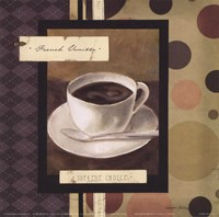 Drinking French Vanilla Coffee Framed Print