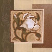 Golden Magnolia I Fine Art Print