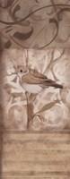 "Song Bird II by Carol Robinson - 4"" x 10"""