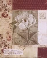 "Wallpaper Peony by Carol Robinson - 8"" x 10"""