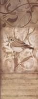 "Song Bird II by Carol Robinson - 8"" x 20"""