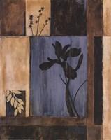 """Iris Silhouette by Maria Donovan - 16"""" x 20"""""""
