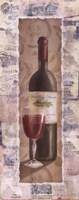 "Wine Ridge Creek by Carol Robinson - 4"" x 10"""